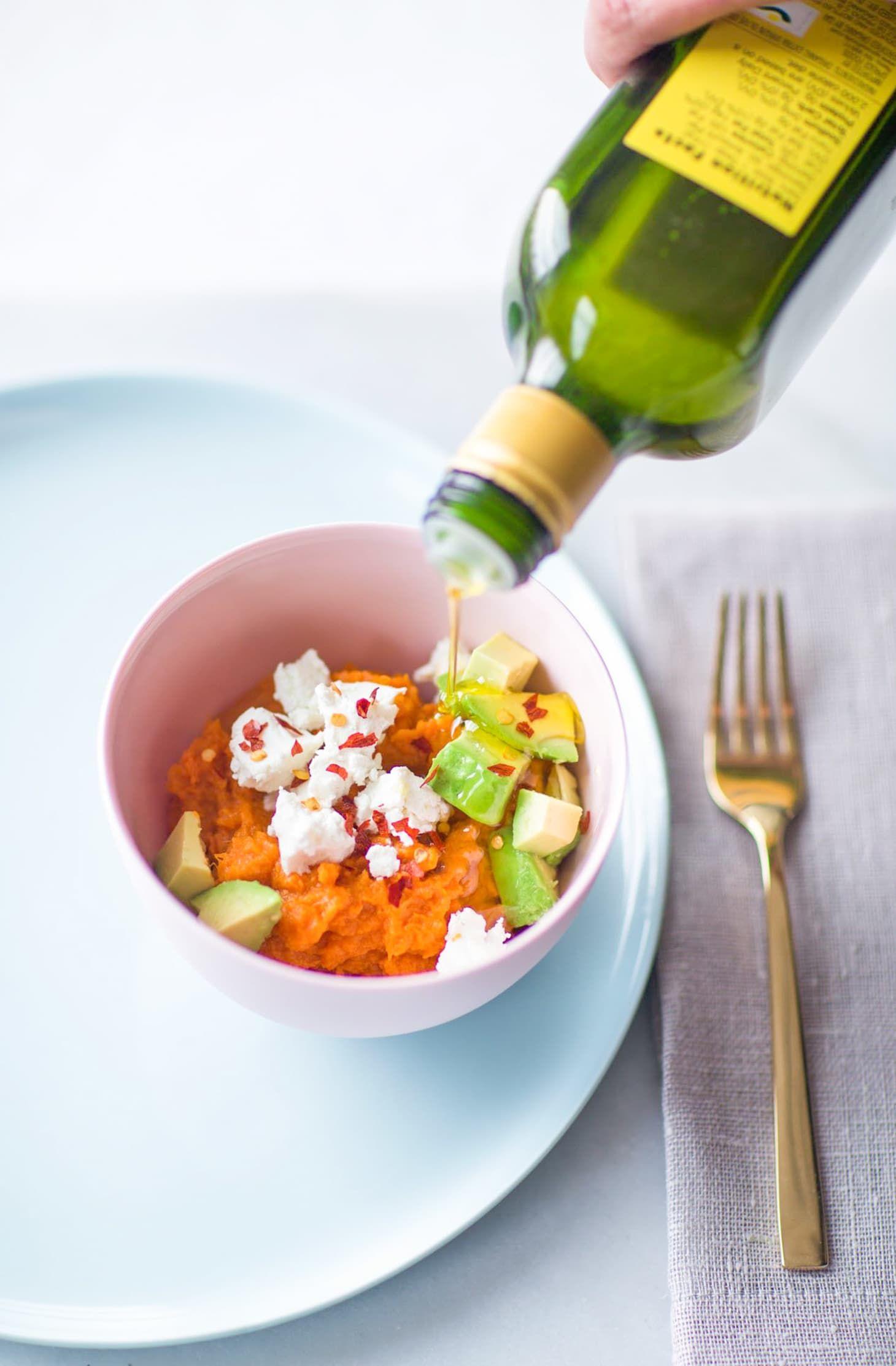 Recipe Mashed Sweet Potato Bowls Two Ways, for Mama