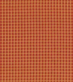 Upholstery Fabric-Waverly Mandalay Henna