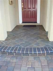 Tile Entry To Front Door Porch Tile Porch Flooring Outdoor
