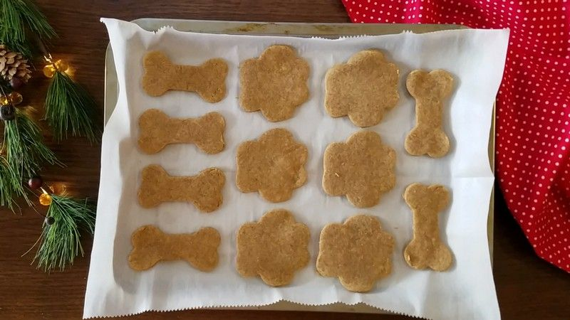 Easy 3 Ingredient Peanut Butter Holiday Dog Treat Your Pup Is