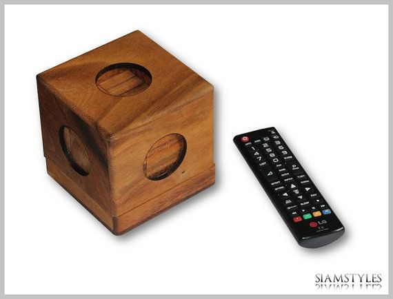 XXL Soma cube puzzle with seven parts by SiamStyles on Etsy, $29.90