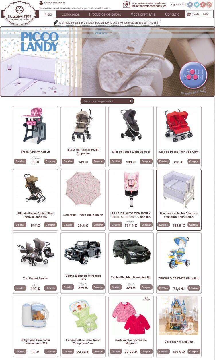 No tienes planes descubre los precios sin competencia que encontraras en www.nuevemesesbaby.es