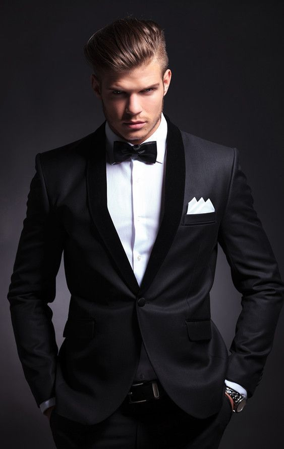 Men Wedding Suits Tuxedos Groom Tuxedo Black Prom