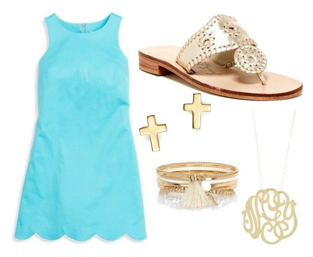"""""""He is Risen, He is Risen Indeed"""" by chevronkoala ❤ liked on Polyvore featuring River Island, Southern Tide, Jack Rogers, Bloomingdale's, Ginette NY and SpreadTheLove"""