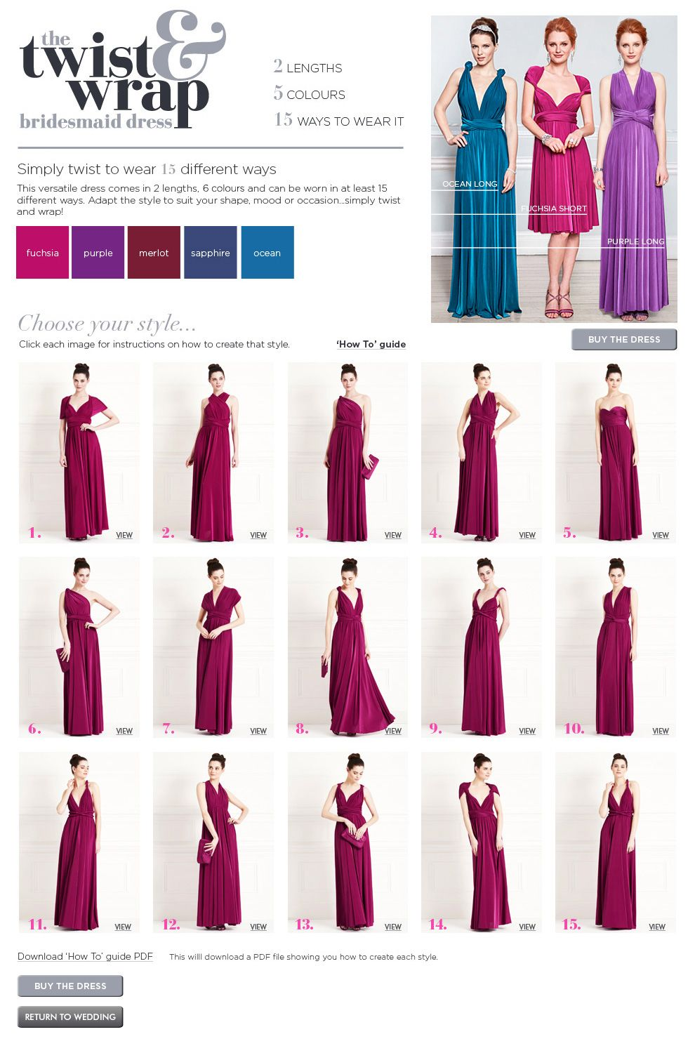 Nice dresses but not the right colour of purple | Bridesmaid ...