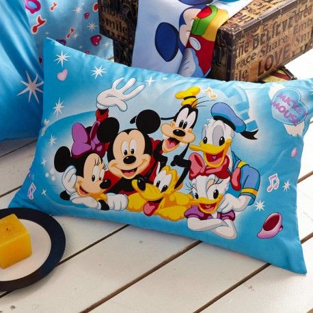Günstig Kinderbett 3d Bettwäsche Disney Cartoon Mickey Mouse Donald