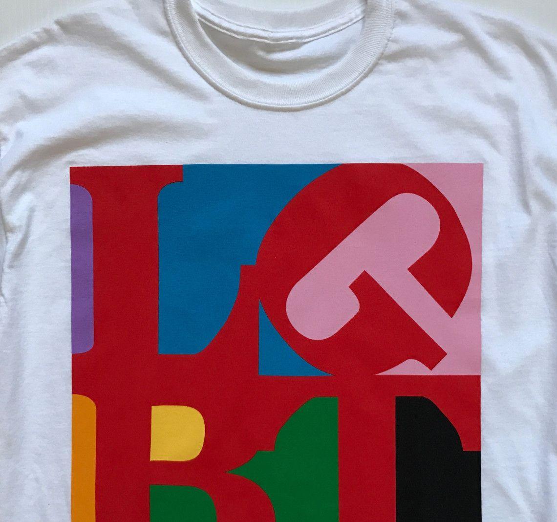 f168f39a276 Unisex LGBT LOVE T-Shirt - White - T-Shirts - Revel   Riot Online ...