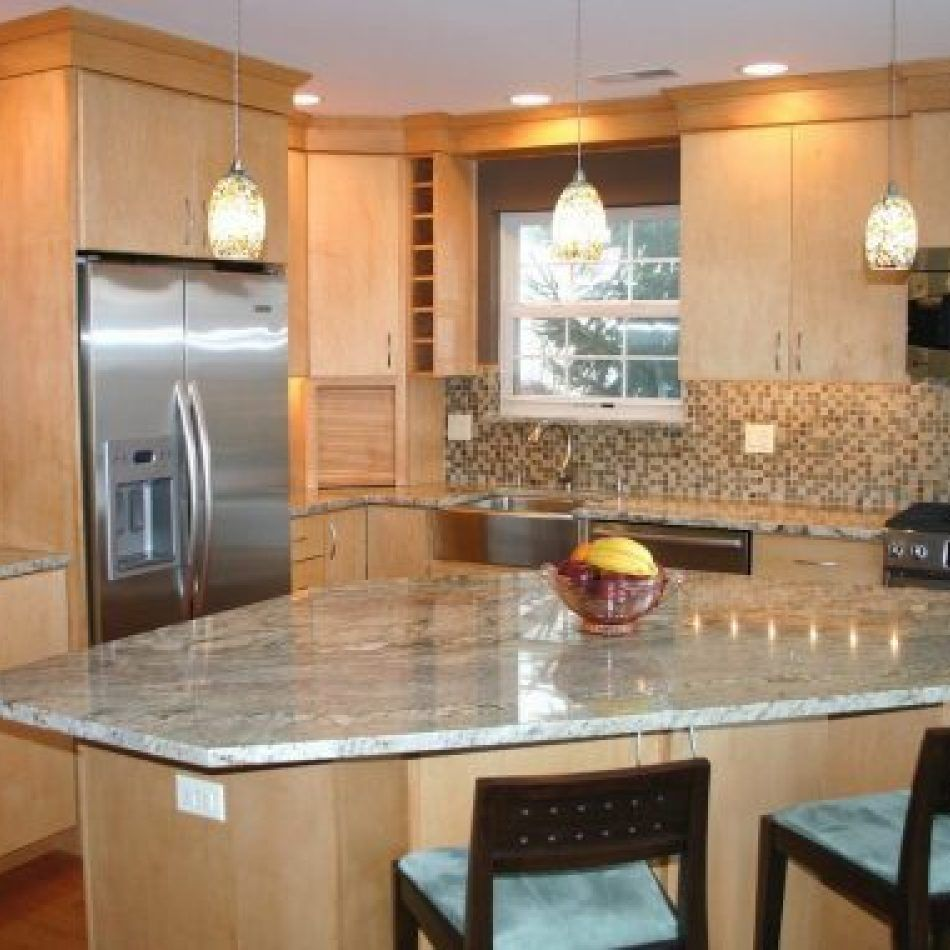 mystery island kitchen 7 angled kitchen island with sink layout no longer a mystery myriadinspira kitchen design 4212