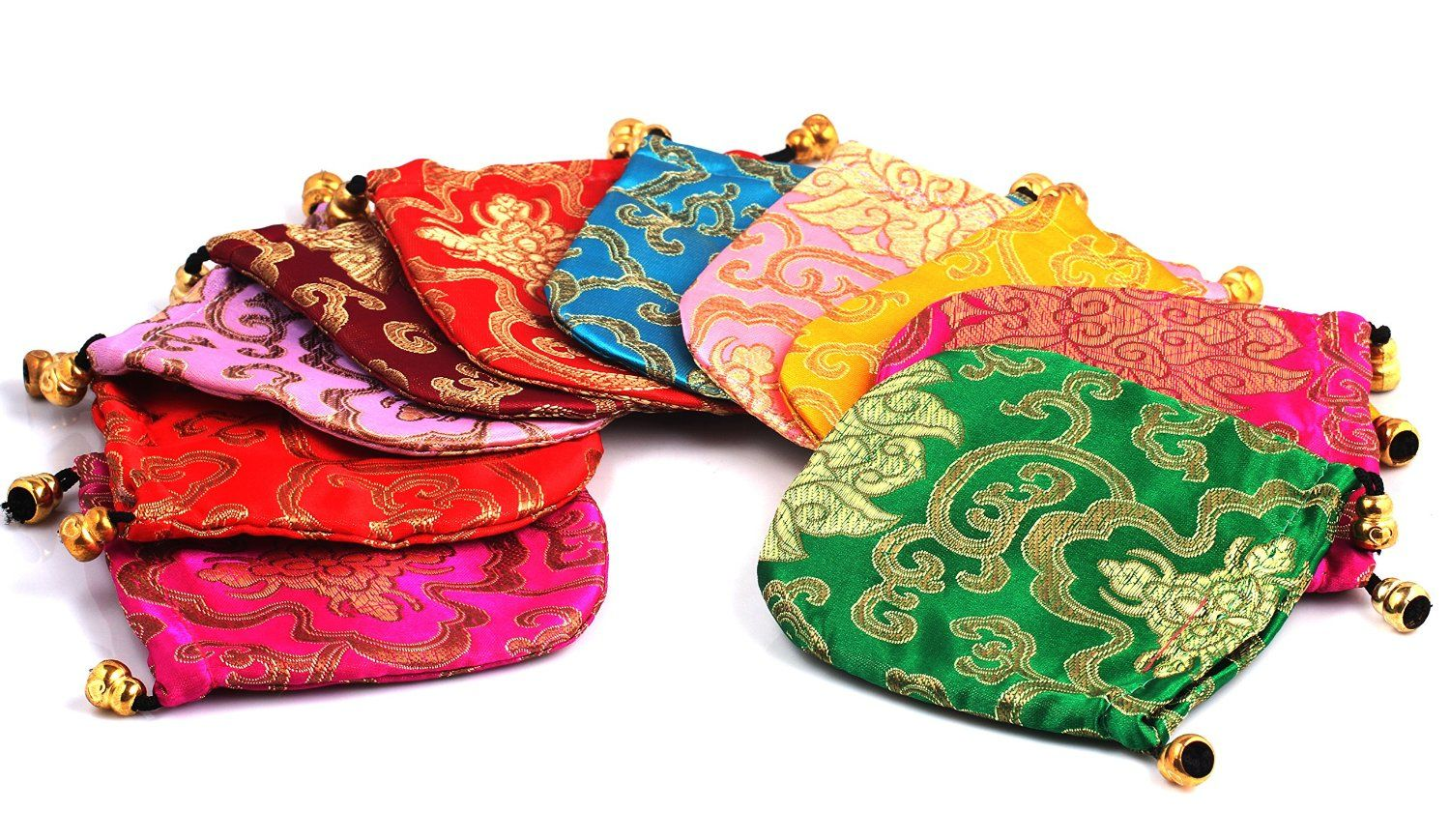Indian Wedding Return Gift Ideas: Drawstring Bags For First Birthday Return Gifts Bags