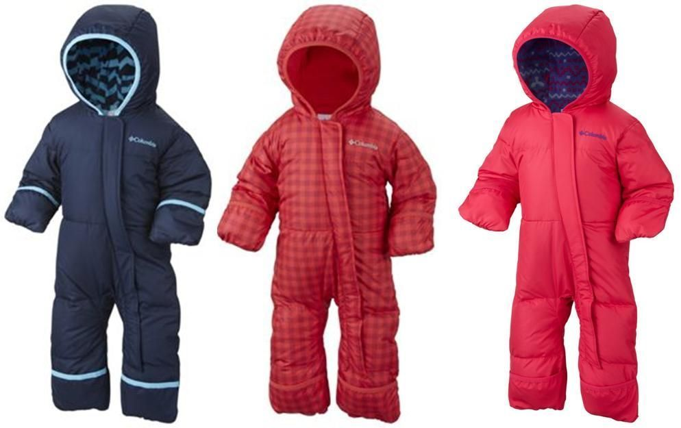 e9fe68918 COLUMBIA BOYS/GIRLS SNUGGLY BUNNY DOWN INSULATED SNOW SUIT BUNTING WARM  12-18-24 #Columbia #Snowsuit