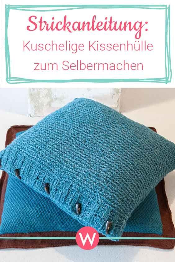Photo of Diese hübschen Kissen kannst du dir ganz einfach selbst stricken