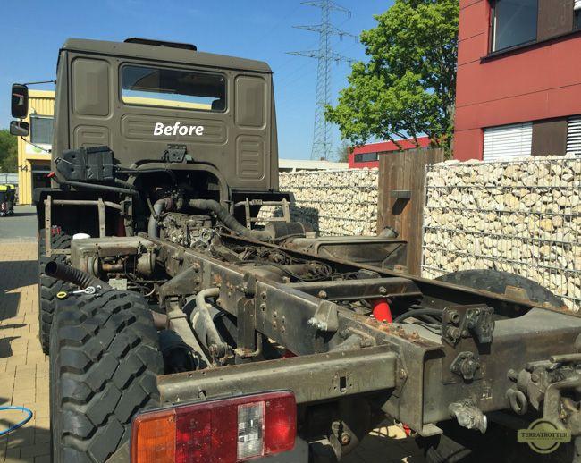 Chassis_Before_sandblast.jpg (650×518)   Tiny truck exterior   Pinterest