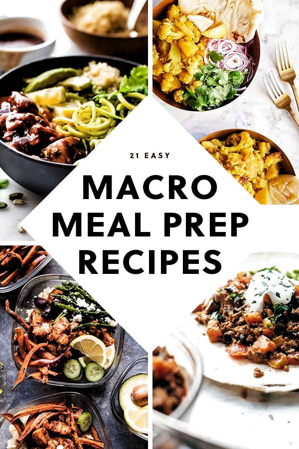 21 Macro Recipes That Are Meal Prep-Friendly #purewow #healthy #food #recipe #lunch #macro diet #health #meal prep #diet #dinner #easy