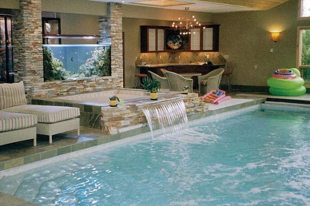 Cool Indoor Pools With Fish