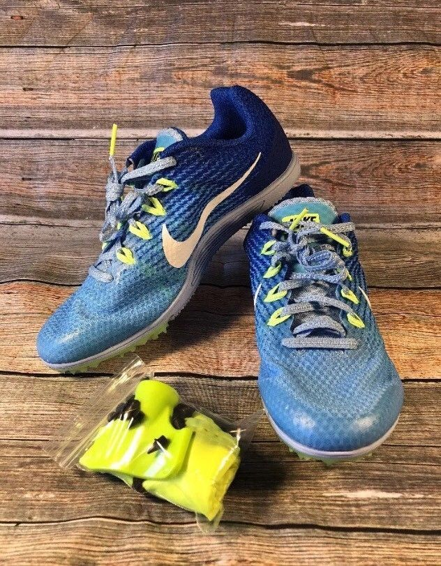 quality design 8b1ad 3432b Womens Nike Zoom Rival D Size 7 Distance Running Track Spike Shoe  806560-401  Nike  LowTop