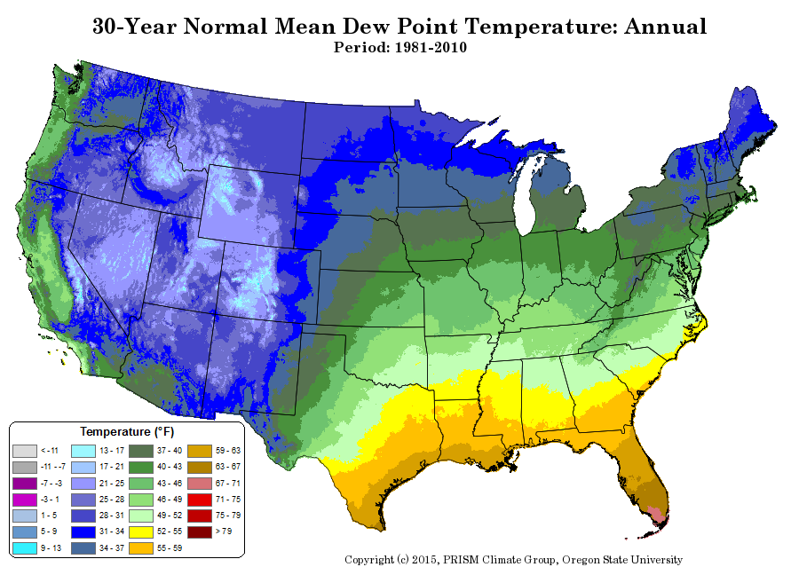Pin By Heath D On Maps Pinterest Del Rio - Humidity map of us
