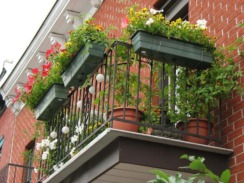 Incredible Small Balcony Garden Ideas 30 Outdoors Pinterest