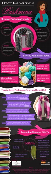 Great Tips to Preserve your Pashmina Shawls [Infographic]