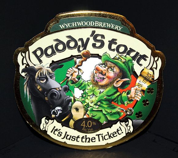Paddy S Tout Beer Label Beer Coasters Craft Brewing