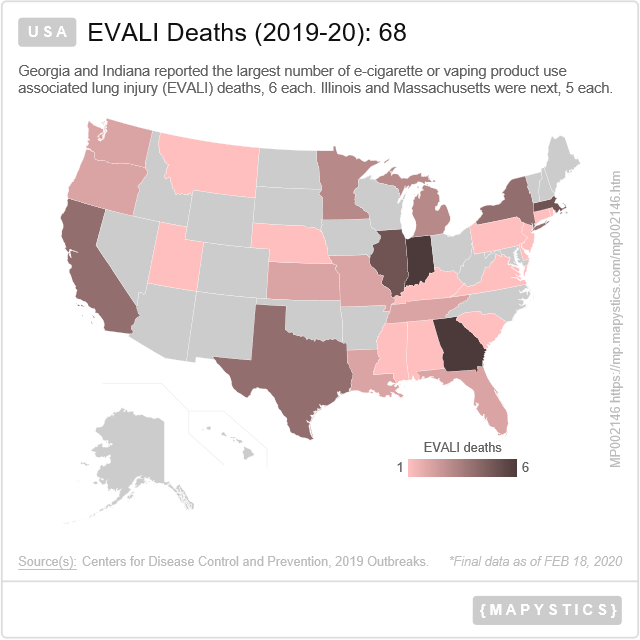 Can You Get Disability For Fibromyalgia In Illinois Usa Evali Deaths 2019 20 68 In 2020 Centers For Disease Control And Prevention Death Indiana