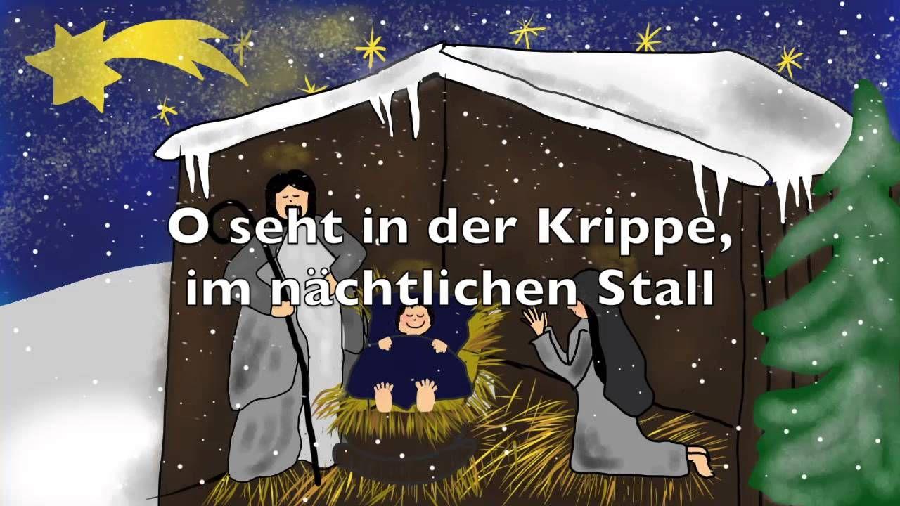 Ihr Kinderlein kommet - Traditional German Christmas carol ...