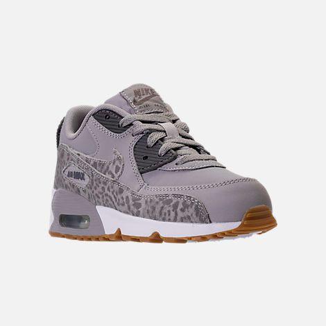 367ea3c0ab Girls' Preschool Nike Air Max 90 SE Leather Running Shoes  Finish Line