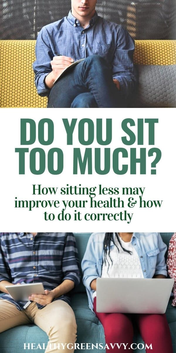 Sitting disease is a real health concern. Make sure you're not spending too much time sitting. Find...