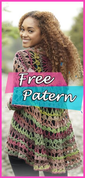 Crochet Cardigan: See the Free Pattern and make it yourself ...