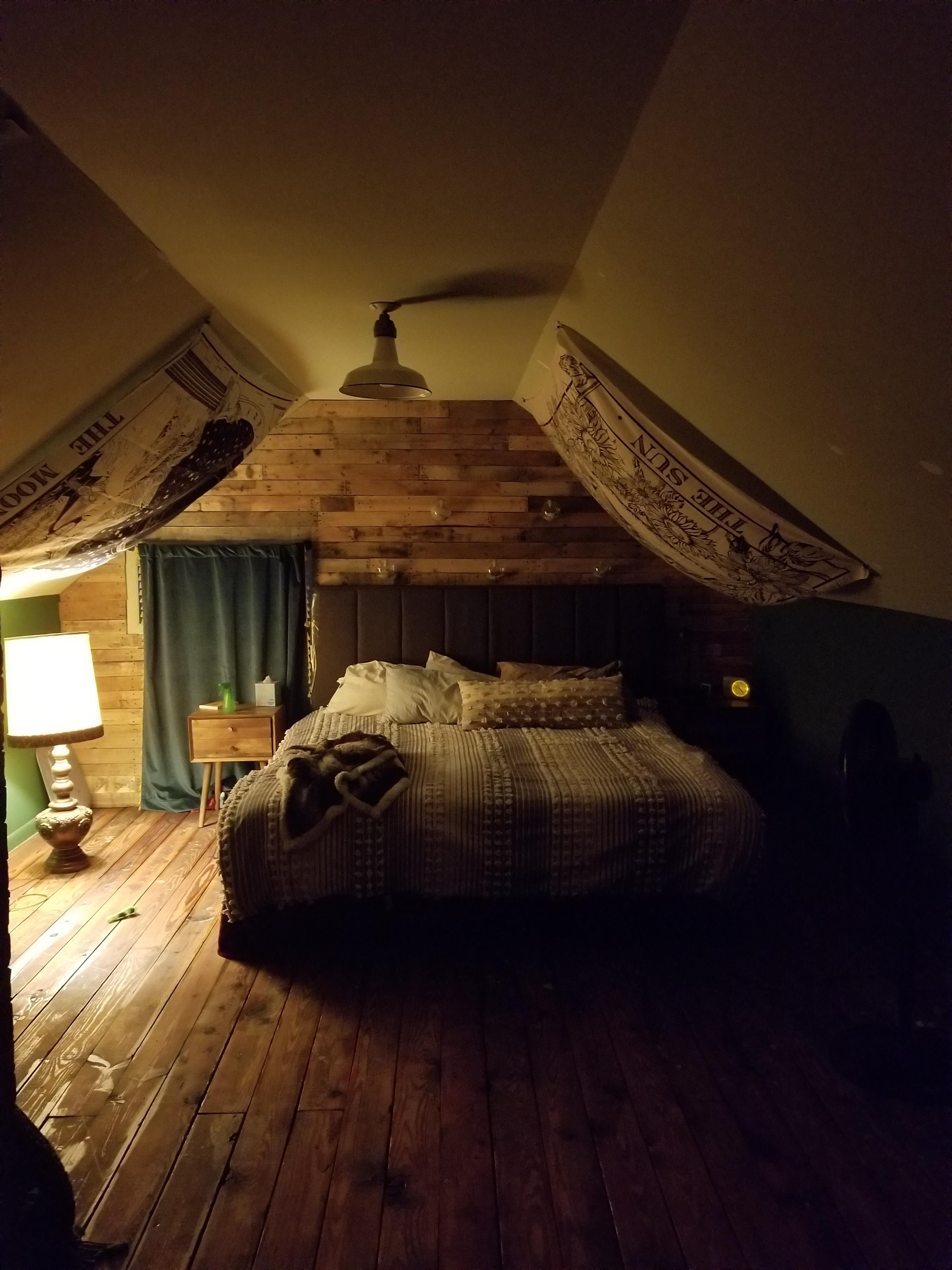 My Bedroom Attic It Isn T Much But It S Home In 2020 Home Decor Comfortable Bedroom Creative Home Decor