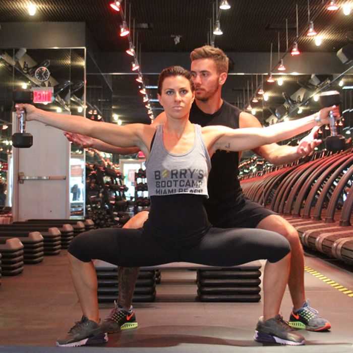 Barrys Bootcamp Workout If Youre A Fan Of The Celeb Endorsed Party Themed Classes From Barrys Bootcamp Youre In Luck We Tapped Celebrity Trainer