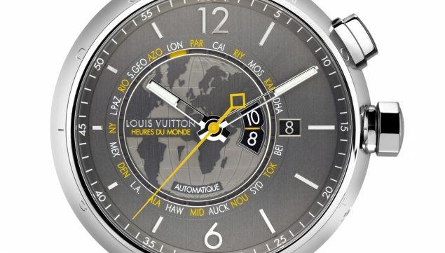 Tambour Heures du Monde Travel Watch