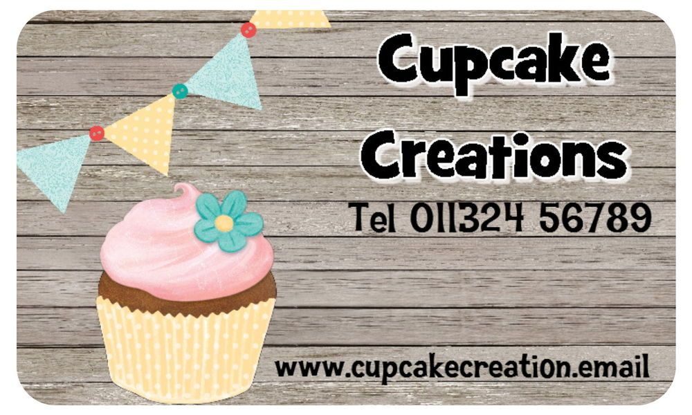 21 personalised gloss cupcake business stickers labels in crafts cake decorating ebay