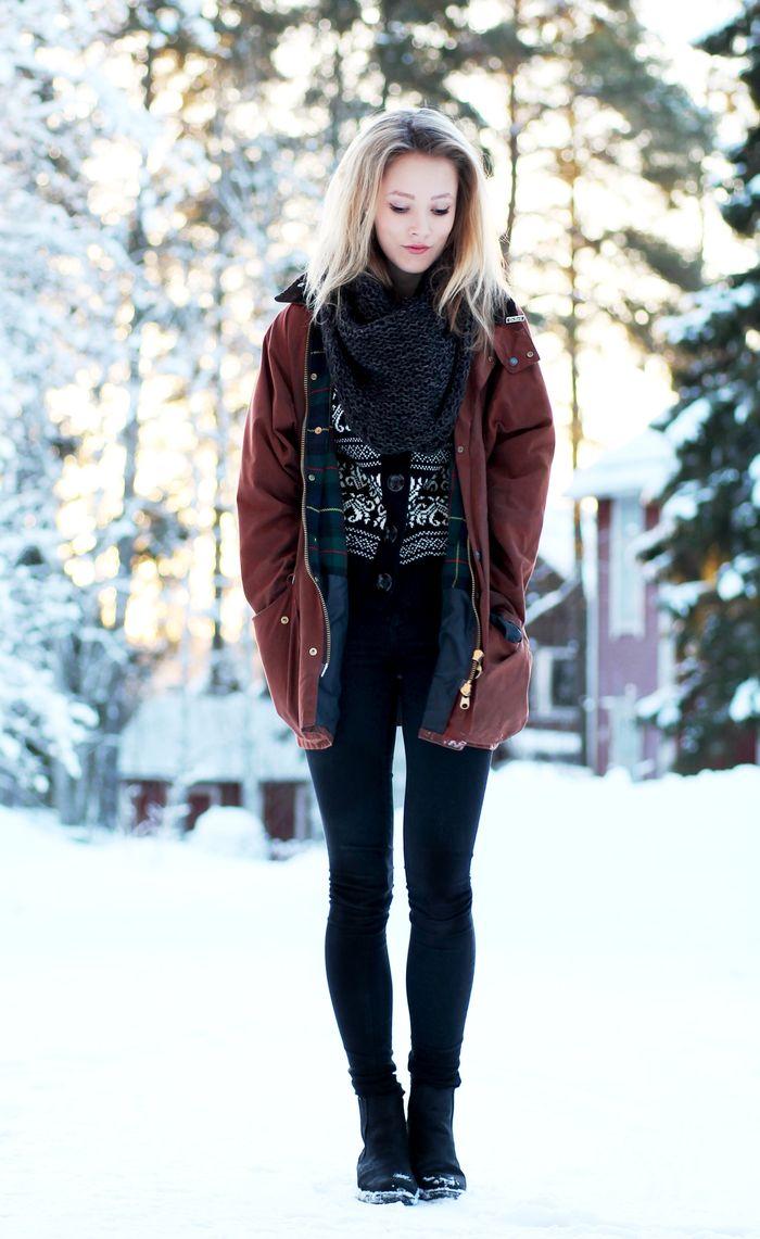 Soft Grunge Fashion Winter