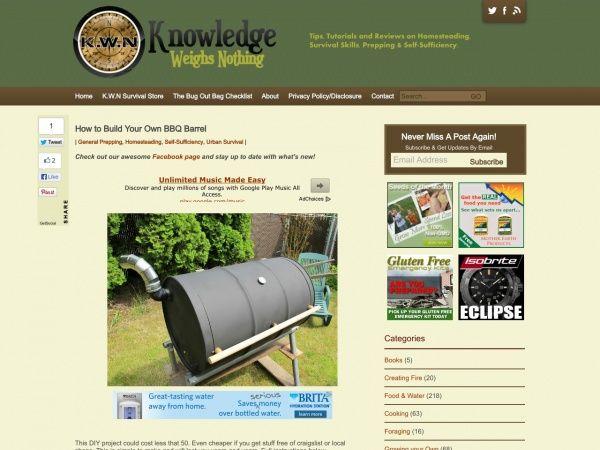 How to bulid a BBQ barrel