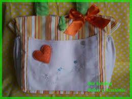 Resultado de imagem para bolsas de tecidos decoradas
