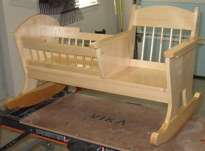 Baby Crib With Rocking Chair Off 67, Rocking Chair Cradle Combo Plans