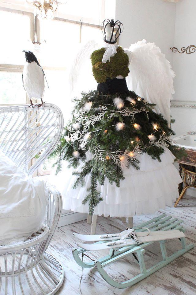 20 Stunning Diy Mannequin Tree Dress Christmas Tree