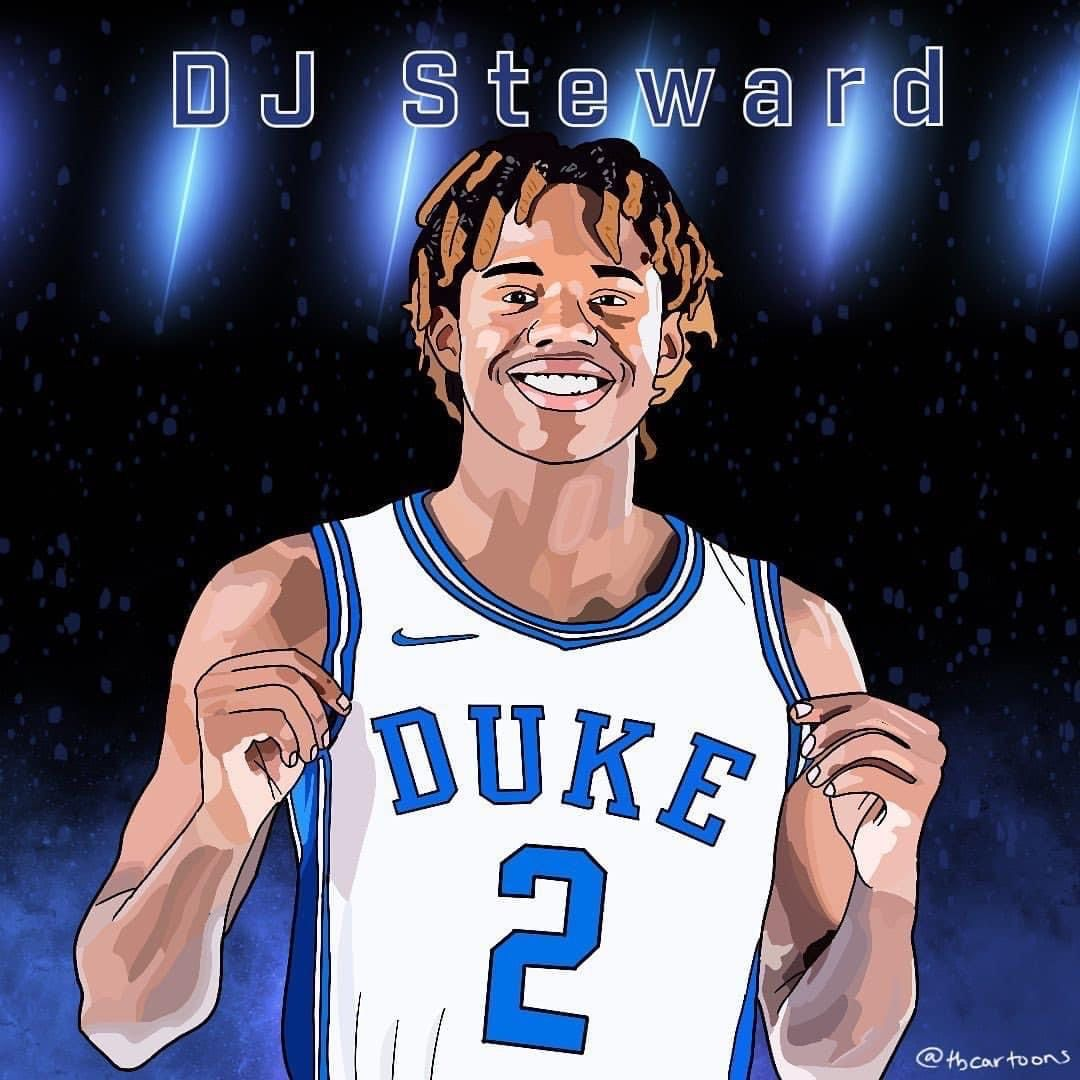 Pin By Chris Schell On Duke Basketball Dj Steward In 2020 Dj Steward Duke Basketball