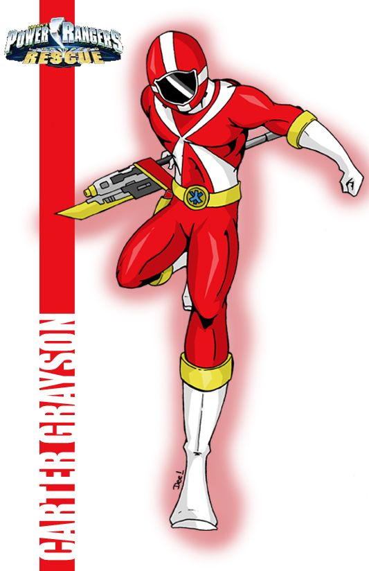 Red Lightspeed Power Ranger by ~deena-chan | power ranger ...