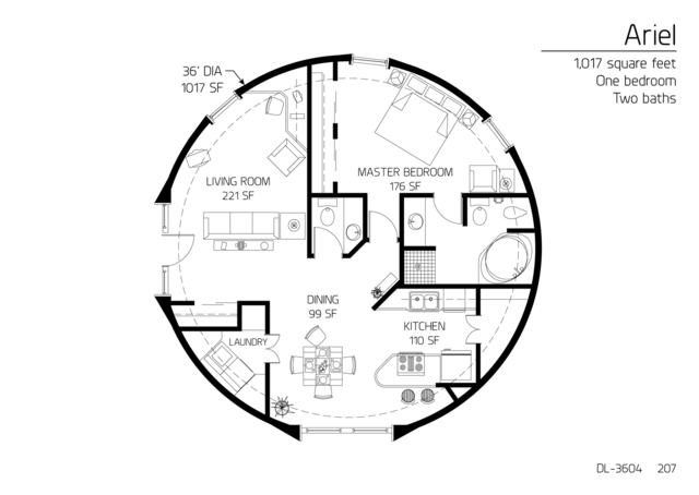 Floor Plans 1 bedroom