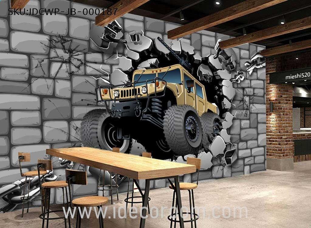 Murales Pared Hormigon