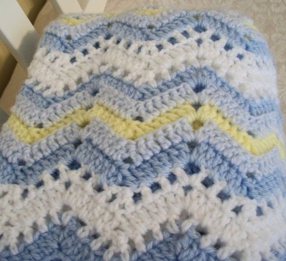 Crochet Pattern Central Free Baby Afghan Crochet Pattern Link