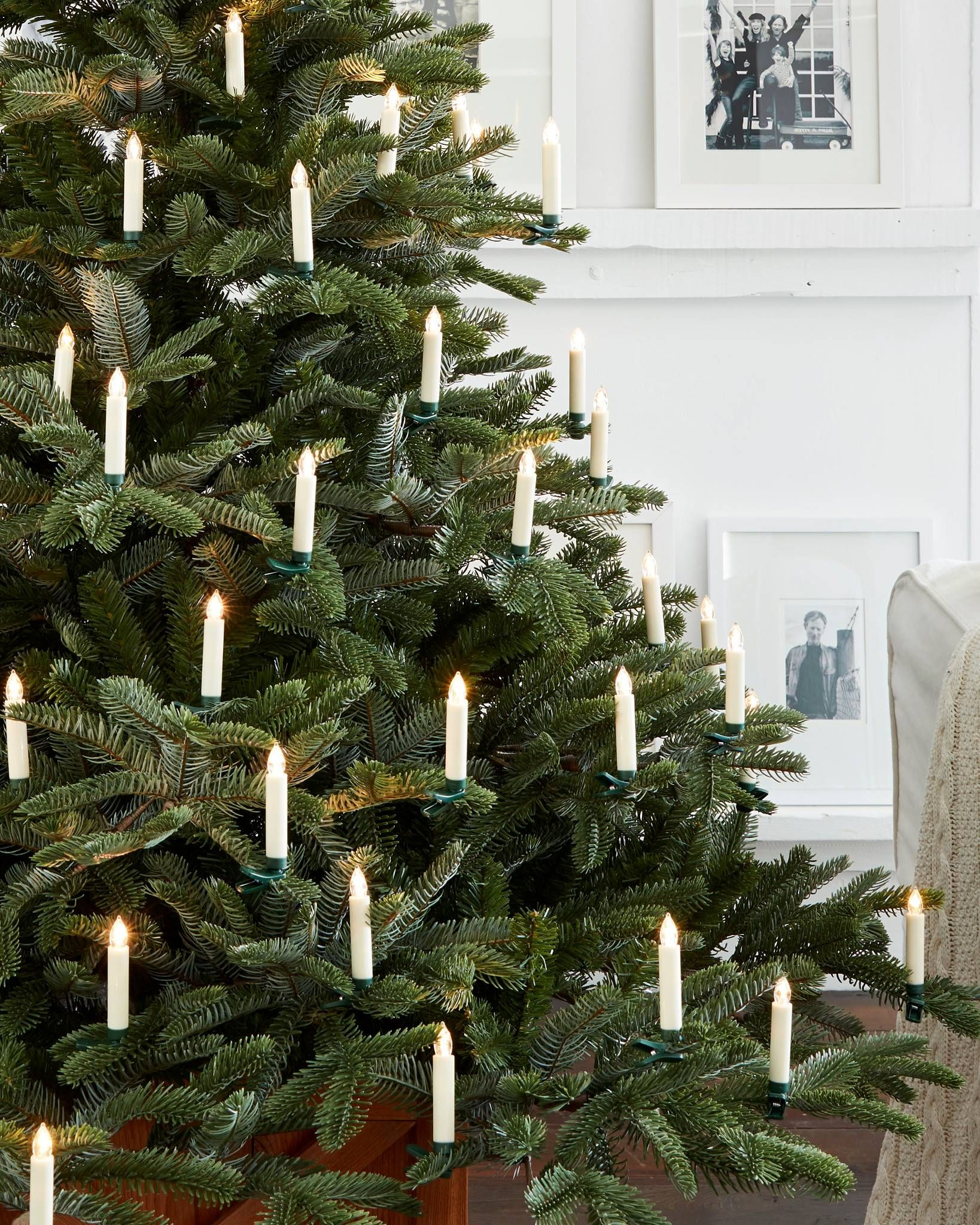 Color Changing Led Christmas Tree Candles Set Balsam Hill Christmas Tree Candles Led Christmas Tree Floral Christmas Tree