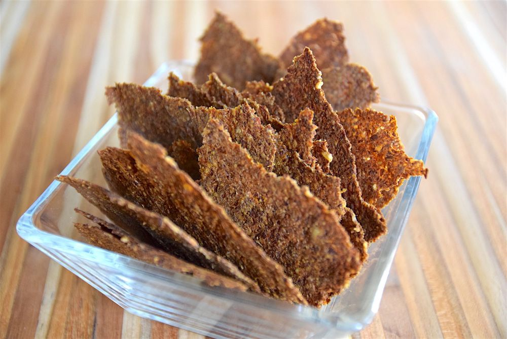 Carrot pulp cumin crackers tasting page juice pulp