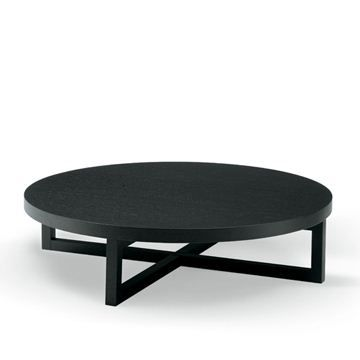 Yard Round Coffee Table By Poliform Paolo Piva Coffee Table Wood Coffee Table Round Wooden Coffee Table