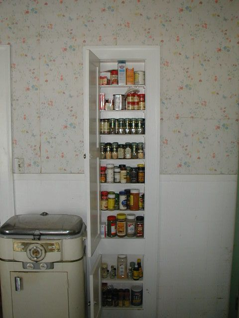 Ironing Board Cabinet, Vintage Ironing Board Cabinet