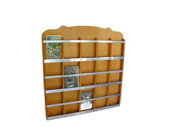 Vintage Postcard Display Wall Rack Photo Card Organization Postcard Display Vintage Postcard Display Postcard Rack
