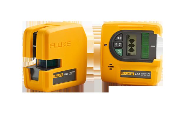 The Fluke 180lg Laser Level System Includes A Laser Level Detector For High Ambient Light Situations Laser Levels Detector Multimeter