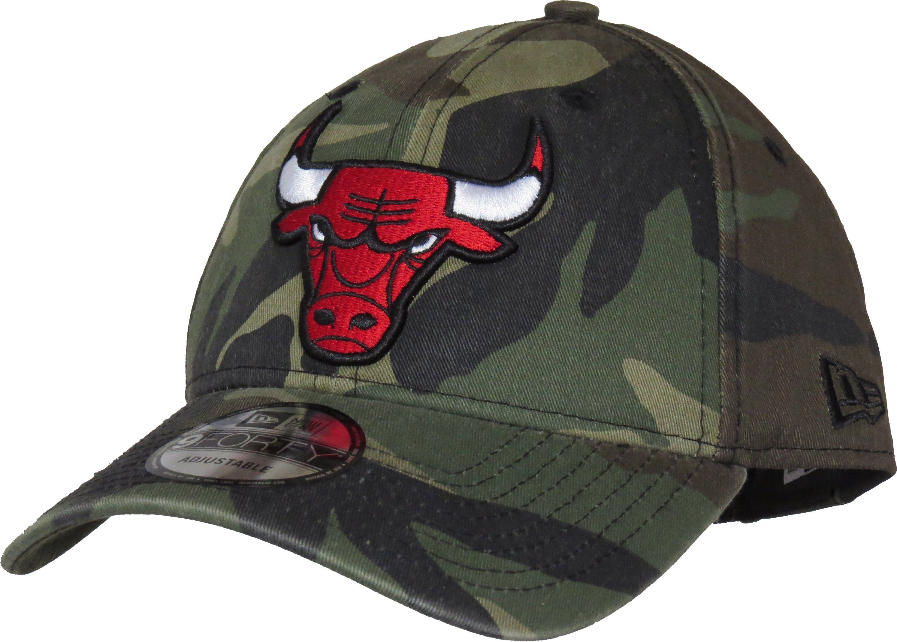 ddbc429ce27 Chicago Bulls New Era 940 Washed Camo Cap – lovemycap