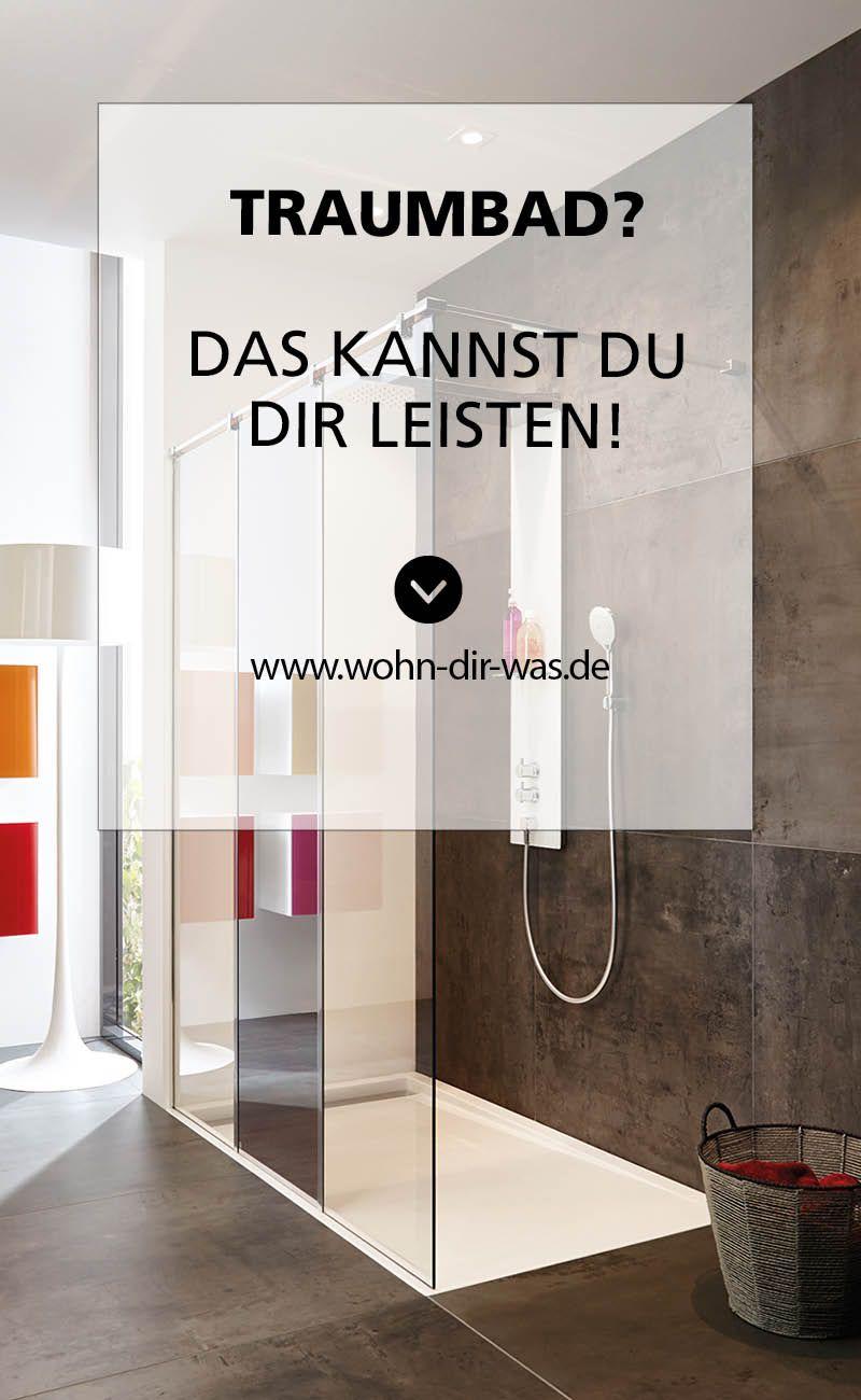 So Leistest Du Dir Dein Traumbad Walk In Dusche Bad Renovieren Moderne Fliesen